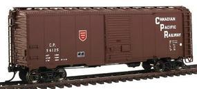 Intermountain 40 106 Modified Box Car Canadian Pacific Newsprint HO Scale Model Train Freight Car #45820