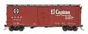 Intermountain AAR 106 Modified Boxcar Santa Fe Bx-37 El Capitan HO Scale Model Train Freight Car #45833