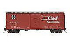 Intermountain AAR 106 Modified Boxcar Santa Fe Bx-37 Super Chief HO Scale Model Train Freight Car #45834