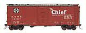 Intermountain AAR 106 Modified Boxcar Santa Fe Bx-37 Chief HO Scale Model Train Freight Car #45835