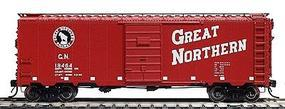 Intermountain 40 12-Panel Boxcar Great Northern (Vermillion Red) HO Scale Model Train Freight Car #46002