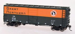 Intermountain 40 12-Panel Boxcar Great Northern HO Scale Model Train Freight Car #46012