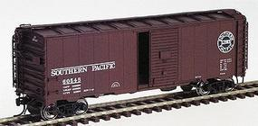Intermountain 40' 12-Panel Boxcar Ready to Run Southern Pacific (Boxcar Red, black Lines Logo) HO-Scale