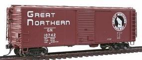 Intermountain Plywood Panel 40 Boxcar Great Northern HO Scale Model Train Freight Car #46054