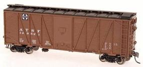 Intermountain 40 War Emergency Single-Sheathed Wood Boxcar Santa Fe HO Scale Model Train Freight Car #46071