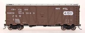 Intermountain 40 War Emergency Single-Sheathed Wood Boxcar C&NW HO Scale Model Train Freight Car #46072