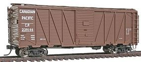 Intermountain 40 War Emergency Single-Sheathed Wood Boxcar CP HO Scale Model Train Freight Car #46075