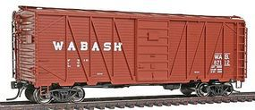 Intermountain 40 War Emergency Single-Sheathed Wood Boxcar Wabash HO Scale Model Train Freight Car #46077