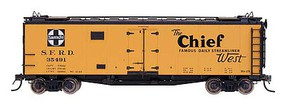 Intermountain Santa Fe 40' Steel Ice Reefer Ready to Run RR-32 ''The Chief'' HO-Scale