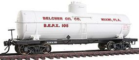 Intermountain ACF Type 27 10,000-Gallon Tank Car Belcher Oil Co. HO Scale Model Train Freight Car #46208