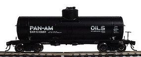 Intermountain ACF Type 27 Riveted 10,000-Gallon Tank Car Pan Am Oils HO Scale Model Train Freight Car #46210