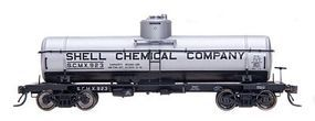 Intermountain 8,000 Gallon Tank Car Shell Chemical Company SCMX HO Scale Model Train Freight Car #46302