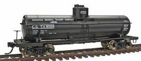 Intermountain ACF Type 27 Riveted 8000 Gallon Tank Car - Assembled Canadian General Transit Co. - HO-Scale