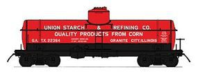 Intermountain 8,000 Gallon Tank Car Union Starch & Refining HO Scale Model Train Freight Car #46331