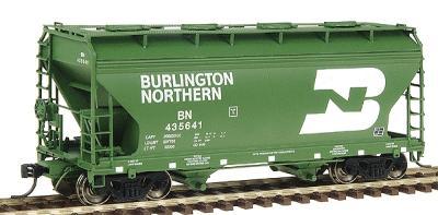 N InterMountain  66525 MRL Montana Rail Link  ACF Center Flow 2-Bay Hopper