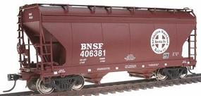 Intermountain ACF 2-Bay Center-Flow Covered Hopper BNSF HO Scale Model Train Freight Car #46533