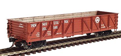 Intermountain Railway Company USRA Composite Drop Bottom Gondola Pennsylvania RR -- HO Scale Model Train Freight Car -- #46608