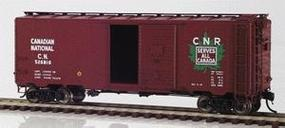 Intermountain Modified AAR 40 Boxcar Canadian National HO Scale Model Train Freight Car #46801