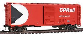 Intermountain Modified AAR 40 Boxcar Canadian Pacific HO Scale Model Train Freight Car #46807