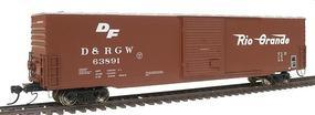 Intermountain 60 PS-1 Boxcar Denver, Rio Grande & Western HO Scale Model Train Freight Car #46907