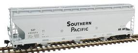 Intermountain ACF 3-Bay Covered Hopper Southern Pacific HO Scale Model Train Freight Car #47003
