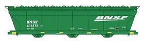 Intermountain ACF 4650 Cubic Foot 3-Bay Covered Hopper BNSF Railway HO Scale Model Train Freight Car #47082