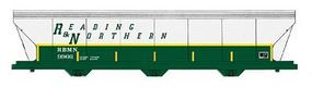 Intermountain 4650 Cubic Foot 3-Bay Covered Hopper R&N HO Scale Model Train Freight Car #47083