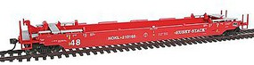 Intermountain Husky Stack Container Car A-Line NOKL HO Scale Model Train Freight Car #47252