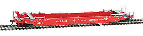 Intermountain Husky Stack Car CRLE HO Scale Model Train Freight Car #47257