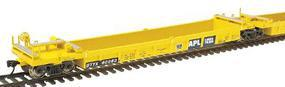 Intermountain Thrall 5-Unit Well Car Set TTX APL (blue panel) HO Scale Model Train Freight Car #47323