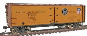Intermountain R-30-21 40 Wood Reefer Pacific Fruit Express HO Scale Model Train Freight Car #47416
