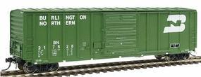 Intermountain 5277 Cu.Ft. Exterior-Post Boxcar Burlington Northern HO Scale Model Train Freight Car #47504