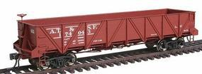 Intermountain Santa Fe Caswell Gondola Santa Fe Class Ga-11 HO Scale Model Train Freight Car #47758