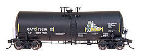 Intermountain 19,600 Gallon Tank Car GATX-MCP HO Scale Model Train Freight Car #47813