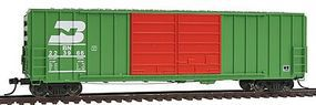 Intermountain FMC 5283 Cubic Foot Double-Door Boxcar BN HO Scale Model Train Freight Car #48314