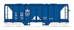 Intermountain Covered Hopper 1958 Cubic foot Jablona Corona HO Scale Model Train Freight Car #48669