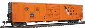 Intermountain R-70-20 Mechanical Reefer Pacific Fruit Express HO Scale Model Train Freight Car #48803