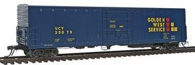 Intermountain R-70-20 Mechanical Reefer Golden West Service HO Scale Model Train Freight Car #48808