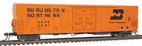 Intermountain R-70-20 Mechanical Reefer Burlington Northern/WFE BNFE HO Scale Model Train Freight Car #48817