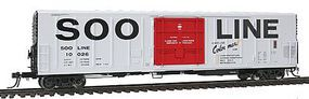 Intermountain R-70-20 Mechanical Reefer Soo Line HO Scale Model Train Freight Car #48821