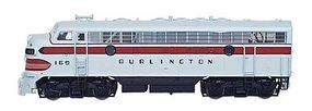 Intermountain EMD F7A DCC - Chicago, Burlington & Quincy HO Scale Model Train Diesel Locomotive #49007