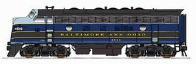 Intermountain EMD F7A - Standard DC - Baltimore & Ohio HO Scale Model Train Diesel Locomotive #49008