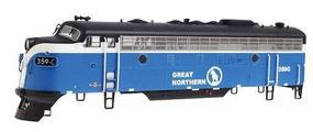 Intermountain EMD F-7A DCC Great Northern Big Sky HO Scale Model Train Diesel Locomotive #49025