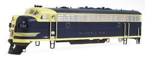 Intermountain EMD F7A - Standard DC - Santa Fe HO Scale Model Train Diesel Locomotive #49026