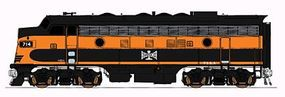Intermountain EMD F7A - Standard DC - Bessemer & Lake Erie HO Scale Model Train Diesel Locomotive #49031
