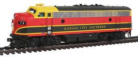 Intermountain EMD F7A - Standard DC - Kansas City Southern HO Scale Model Train Diesel Locomotive #49053
