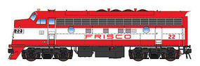 Intermountain EMD F7A Frisco orange & white HO Scale Model Train Diesel Locomotive #49064