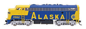 Intermountain EMD F7A Alaska HO Scale Model Train Diesel Locomotive #49066
