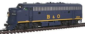 Intermountain EMD F7A - Standard DC - Baltimore & Ohio HO Scale Model Train Diesel Locomotive #49071