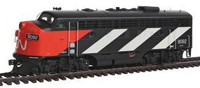 Intermountain EMD F7A - Standard DC - Canadian National HO Scale Model Train Diesel Locomotive #49072
